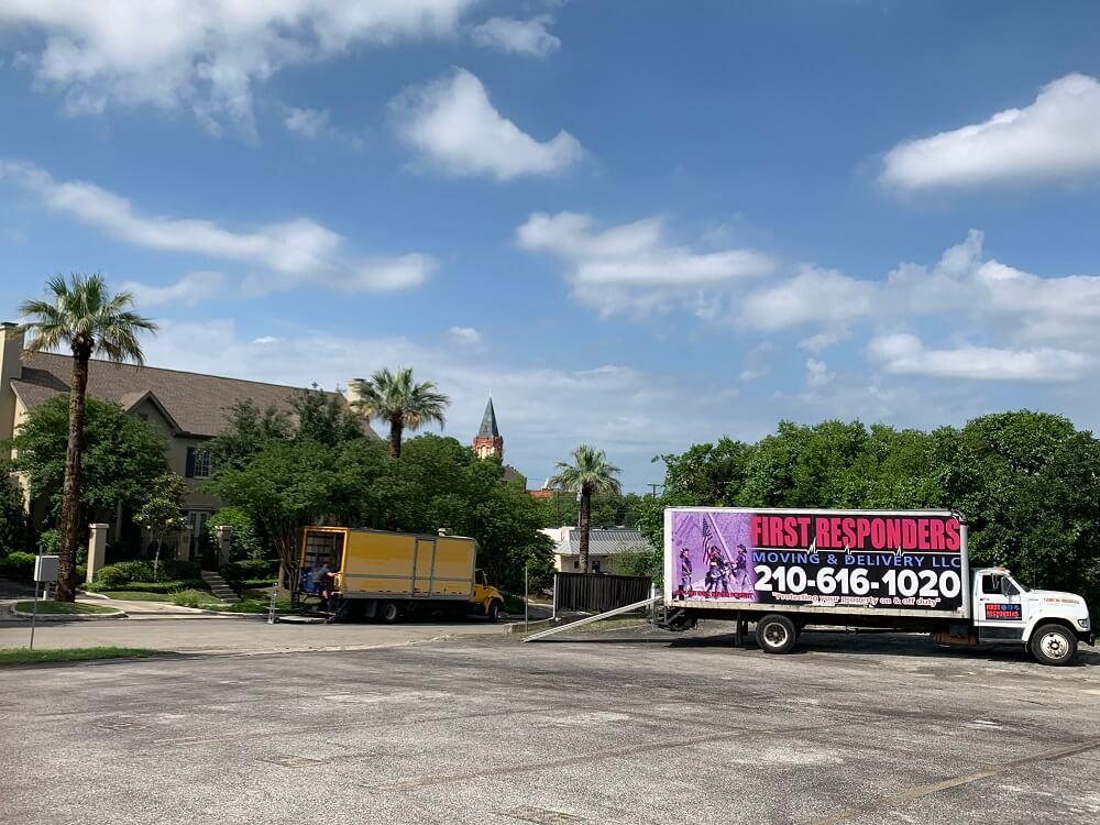 San Antonio Texas Movers First Responders Moving